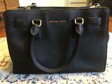 Michael Kors Black Leather Handbag - Great Condition - Medium