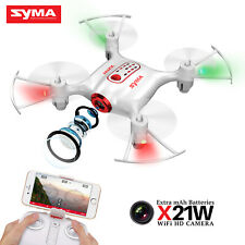 Mini RC Drone Syma X21W FPV WiFi HD Camera Altitude Hold Headless Kid Great Gift