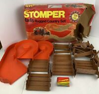 STOMPER 4X4 Rugged Country Vintage Children's Toy Lot Set Schaper Missing Truck