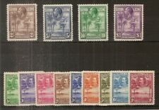 (F) Sierra Leone 1932 Definitives to £1 SG155-167 Mint Cat£275