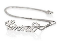 Personalized Name Necklace 925 Sterling Silver Made with any Name