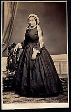 CDV NANCY c. 1865 - Mme Klein - Ph. Odinot - 1148