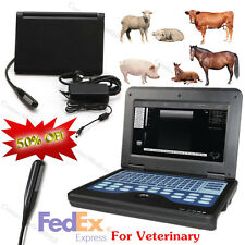 Equine & Bovine Veterinary Ultrasound Scanner Laptop Machine & endorectal probe