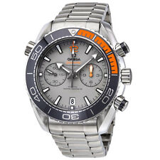 Omega Seamaster Planet Ocean Chronograph Grey Automatic Mens Watch 215.90.46.51.