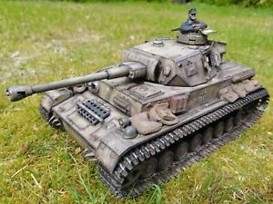 "1/16 RC Taigen Panzer IV F2 FO ""War Thunder"" Edition Profi Lackiert"