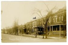 Chicago IL -SAWYER AVENUE SOUTH FROM 19TH STREET-LAWNDALE SECTION- RPPC Postcard