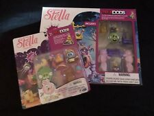 Lot Of Angry Birds Stella Telepods Piggy Palace Playset & Treats Pack Expansion