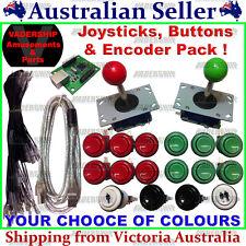 2x JOYSTICKS & 16x BUTTONS & Xin-mo USB Encoder - Pack Arcade / Mame / Multicade