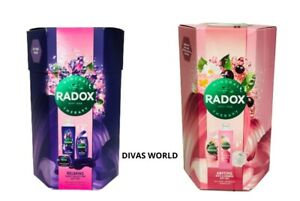 Radox Relaxing Sleep Collection/Anytime Bath & Shower Gel Gift Set For Her New