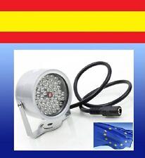 ILUMINACION 48 LED foco para CAMARA SEGURIDAD CCTV infrarrojos vision noc IR LUZ
