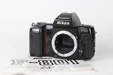 Nikon AF F-801 SLR Gehäuse #2272040  mit Anleitung