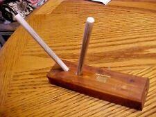 New listing Wood Turn Box~ Edge Mark ~ Sharpening Stick ~ Ceramic Knife Sharpener