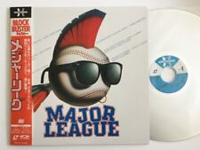 Major League with Obi Laser Disc Japan SF047-5386 LD