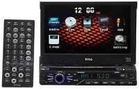 "Boss BV9965I Single Din 7"" In-Dash Monitor, DVD/CD AM/FM Receiver,USB,SD,iPod"