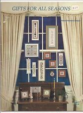 VINTAGE GIFTS FOR ALL SEASONS--CROSS STITCH LEAFLET--BOOK 4