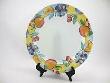 Set of 4 Corning Ware, Fruit Pattern, Plates