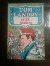 Tom Landry and the Dallas Cowboys Comic Book 1973 Spire Comics