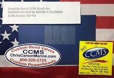 CCMS COMPOSITE REED VALVES SEADOO 951 ROTAX MOTOR 2 CYLINDER JET SKI PN.SD-951