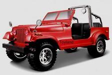 Bburago 22033 Modellauto Jeep Wrangler rot - 1:24 - NEU in OVP