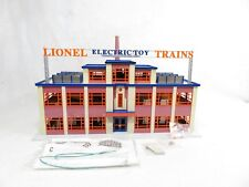 Lionel 6-32905 Trains Irvington Factory Tin Plate Illuminated LN