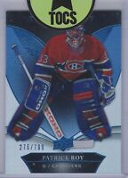 Patrick Roy 2018-19 Trilogy Blue Numbered Base Parallel 276/799 Montreal