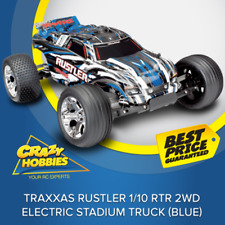 Traxxas Rustler 1/10 RTR 2WD Electric Stadium Truck (Blue) or (Red)