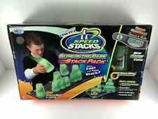 NEW Speed Stacks Glow In The Dark Stack Pack Cups Stack Mat Carry Bag Timer DVD