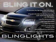 2013 2014 Chevrolet Trax LED DRL Head Light Strips Day Time Running Lamp Kit Set