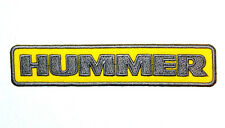 HUMMER Auto Sports Luxury SUVs Army Trucks Car SUTs Jacket Bag Shirt Iron Patch