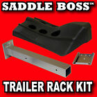 Horse Trailer Saddle Rack Kit by Saddle Boss, also for tack room or fence post