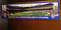 1991 PABST OPENING DAY MILWAUKEE COUNTY STADIUM BREWERS POSTER