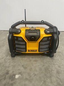 Dewalt Worksite Speakers/Radio And Charger
