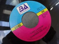 DIAMONDS AND RUST - I Got a Woman BLUE ASH 146 - 70s rock 45