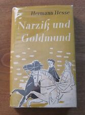 Narcissus and Goldmund by Hermann Hesse -early German Edition 1955 HCDJ - VG+
