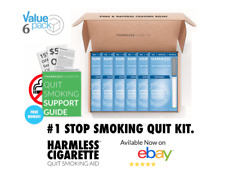 Harmless Cigarette Natural Stop Smoking Aid Satisfying Oxygen Flavored 6 Pack