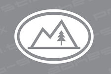 CAMPING OUTDOORS VINYL DECAL STICKER