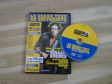 THE Rolling Stones - KEITH RICHARDS  - GUITAR PART !!!!!!!! FRENCH DVD !!