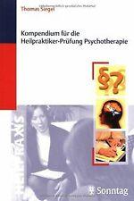 Kompendium für die Heilpraktiker-Prüfung Psychotherapie ... | Buch | Zustand gut