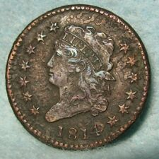 1814 Classic Head Large Cent Xf Details * Us Coin #3643