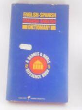 English-Spanish English-Spanish Dictionary Paperback