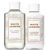 Bath & Body Works White Jasmine Body Lotion + Shower Gel Duo Set