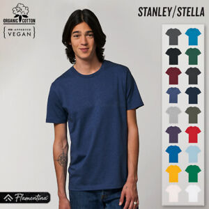 Unisex Organic Cotton Essential T-Shirt Stanley Stella Premium Relaxed Fit Top