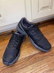 Inov 8 Roclite 290 Trail Runner Shoes Black/Grey, Size US Men 9, Women 10.5 EUC