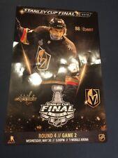 Stanley Cup Final Vegas Golden Knights Nate Schimdt Game 2 Poster
