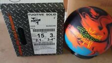 15lb Hammer  FUGITIVE Solid Bowling Ball Fast Ship 51211