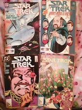 STAR TREK #39 & 40 (1987) #22 & 23 (1991) HARRY MUDD(cheap shipping) DC LOT of 4
