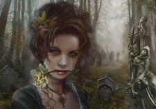 The Graveyard - 1000 piece puzzle / Gothic, Dark Fantasy