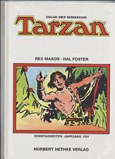 TARZAN SONNTAGSSEITEN 1931 - REX MAXON / HAL FOSTER - HETHKE VERLAG - OVP