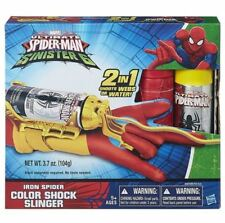 Marvel Ultimate Sinister 6 Spider-Man Iron Spider Color Shock Slinger New