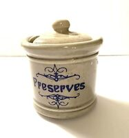 Vintage McCoy Pottery Preserve Jar with Lid
